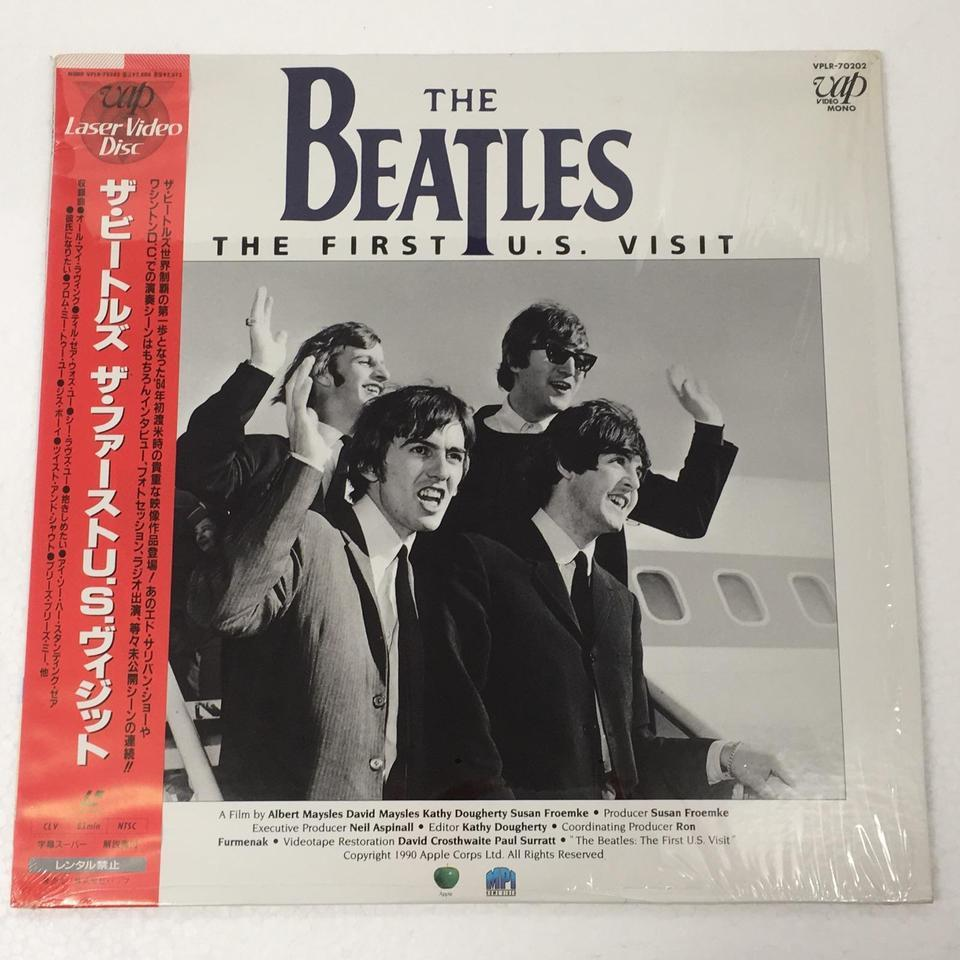 THE FIRST U.S. VISIT/THE BEATLES THE BEATLES 画像