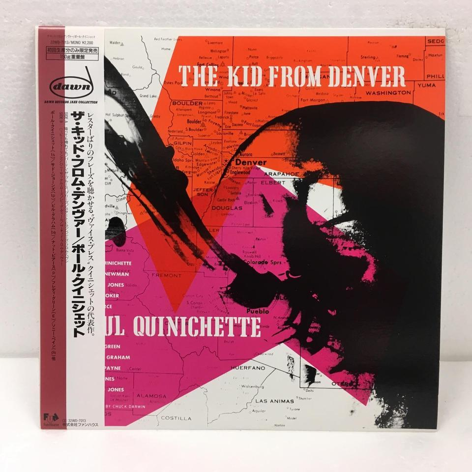 THE KID FROM DENVER/PAUL QUINICHETTE PAUL QUINICHETTE 画像