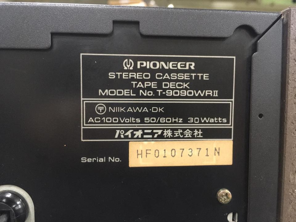 T-9090WR/2 PIONEER 画像