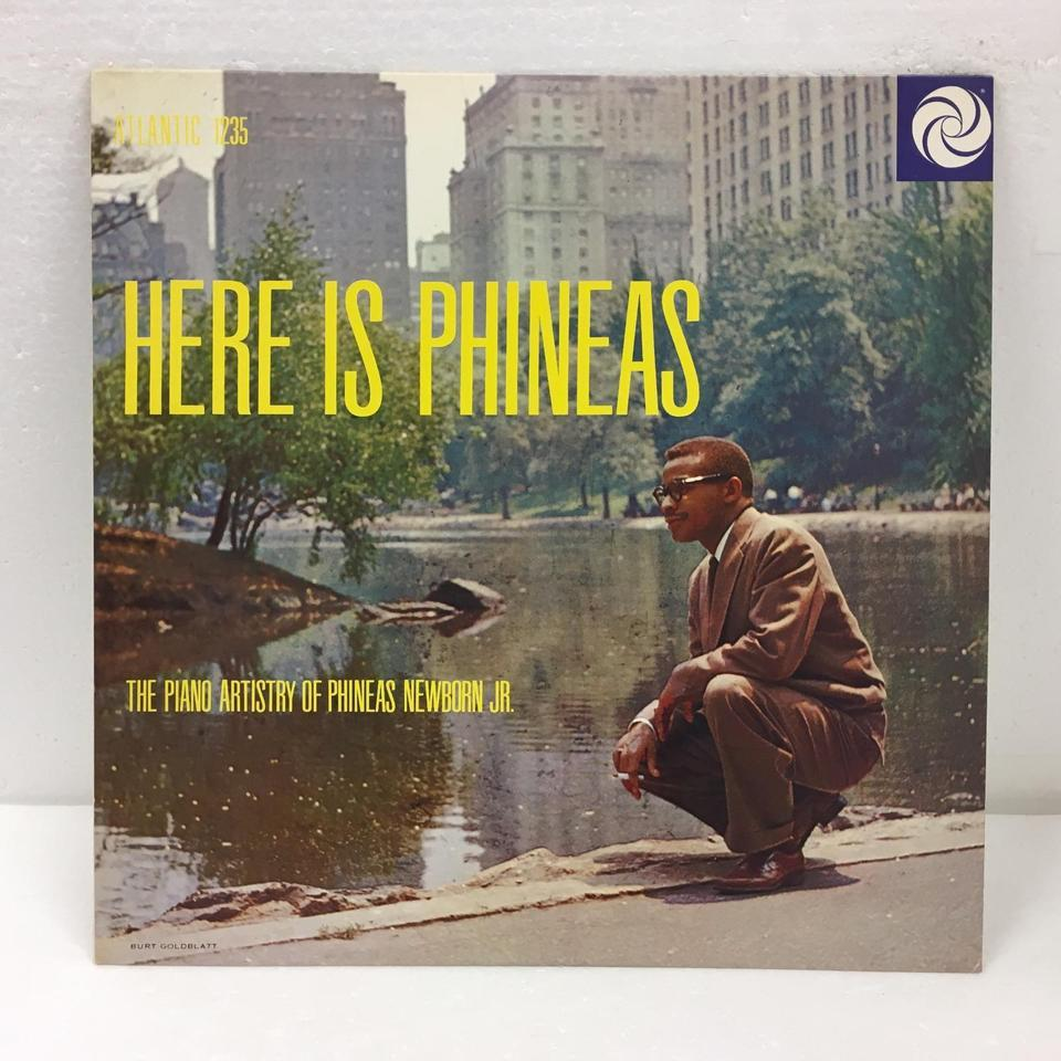 HERE IS PHINEAS/PHINEAS NEWBORN JR. PHINEAS NEWBORN JR. 画像