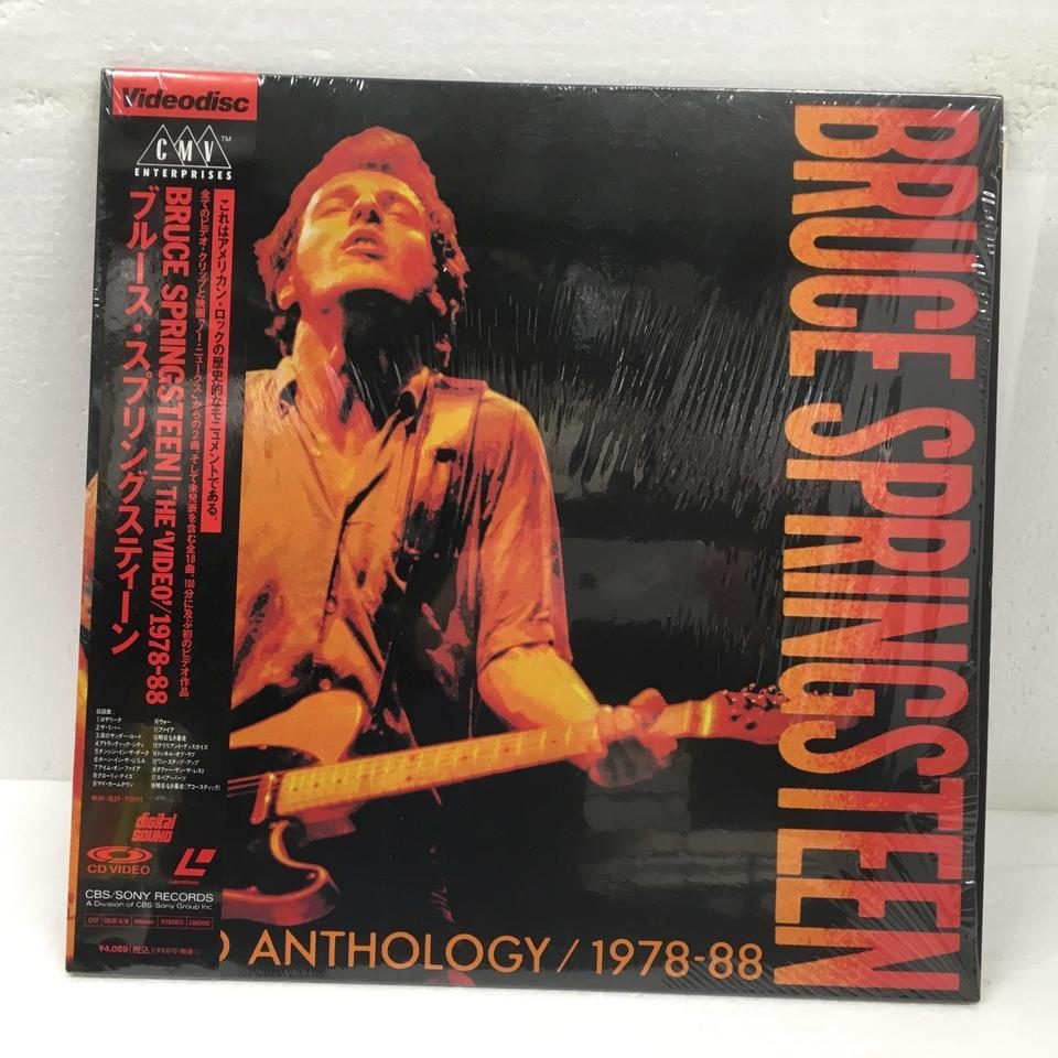 VIDEO ANTHOLOGY 1978-88/BRUCE SPRINGSTEEN BRUCE SPRINGSTEEN 画像