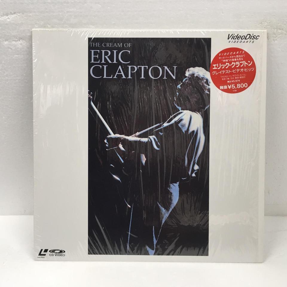 THE CREAM OF ERIC CLAPTON ERIC CLAPTON 画像