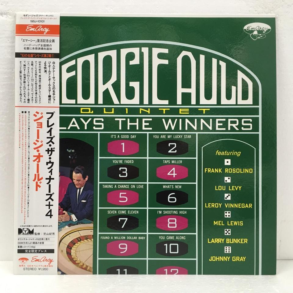 PLAYS THE WINNERS/GEORGE AULD GEORGE AULD 画像