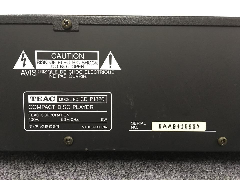 CD-P1820 TEAC 画像