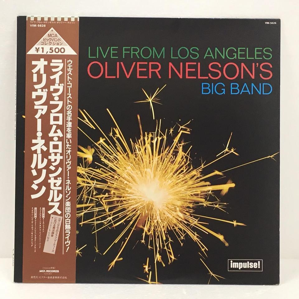 LIVE FROM LOS ANGELES/OLIVER NELSON OLIVER NELSON 画像