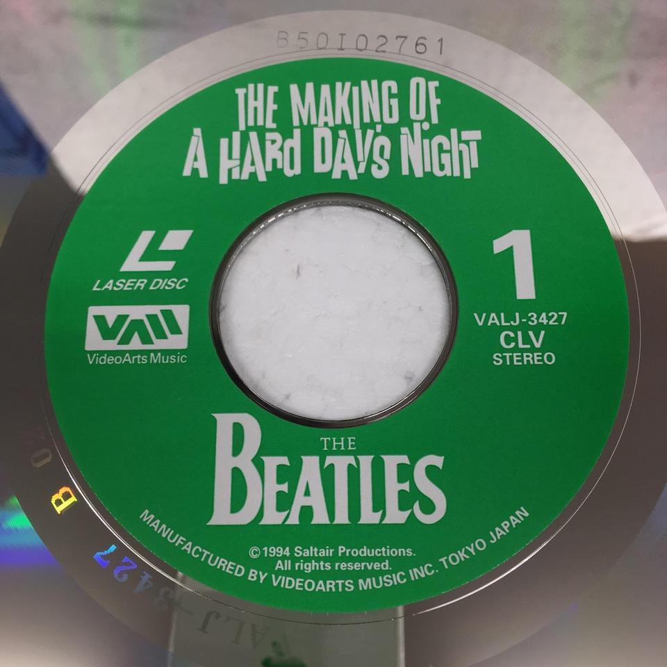 THE MAKING OF A HARD DAY'S NIGHT/THE BEATLES THE BEATLES 画像