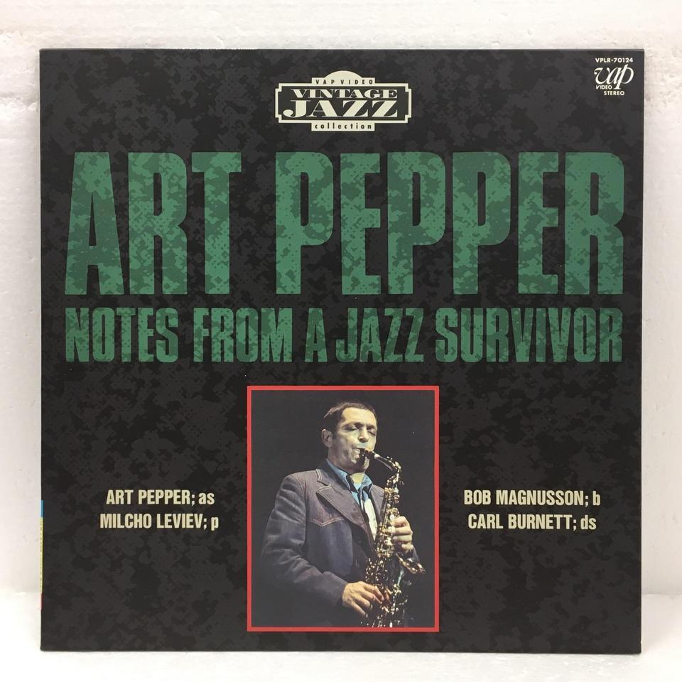 NOTES FROM A JAZZ SURVIVOR/ART PEPPER SONNY ROLLINS 画像