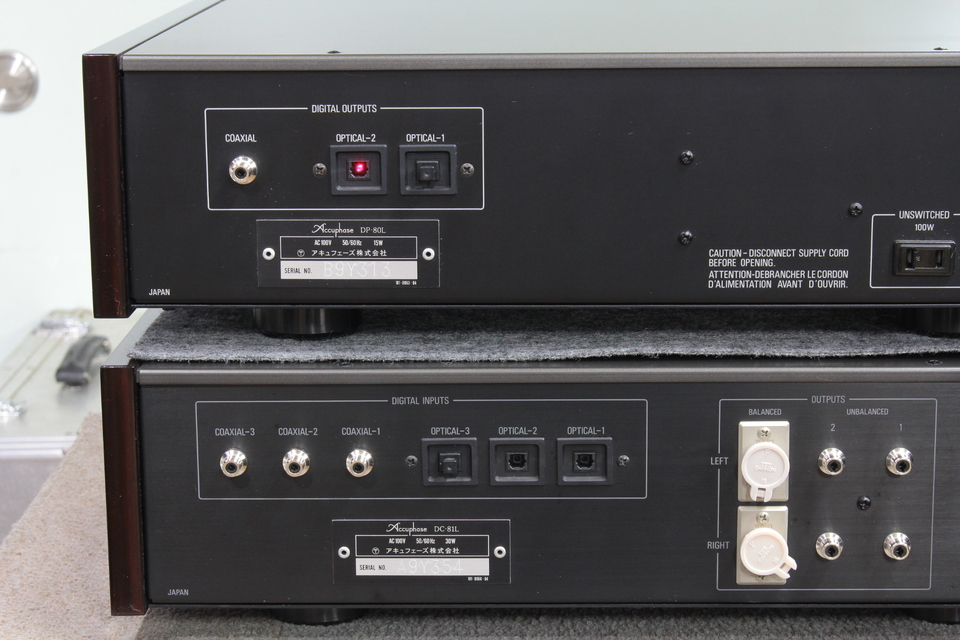 DP-80L+DC-81L Accuphase 画像