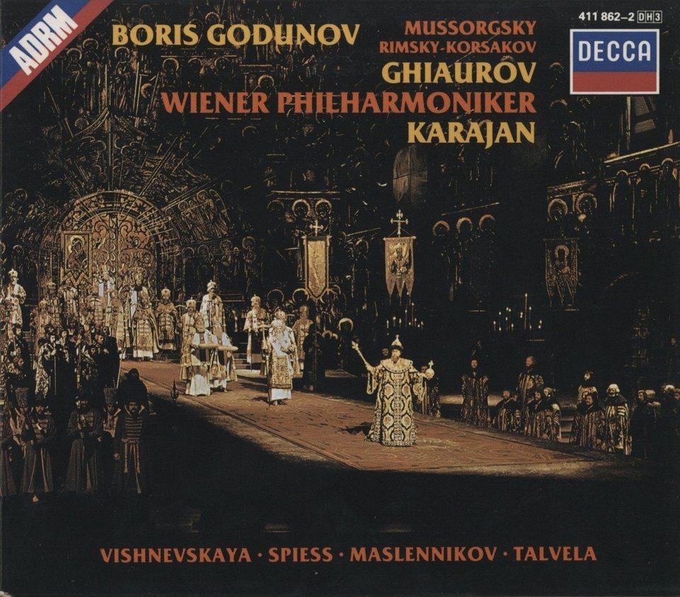 ムソルグスキー:歌劇「ボリス・ゴドノフ」 ムソルグスキー 画像