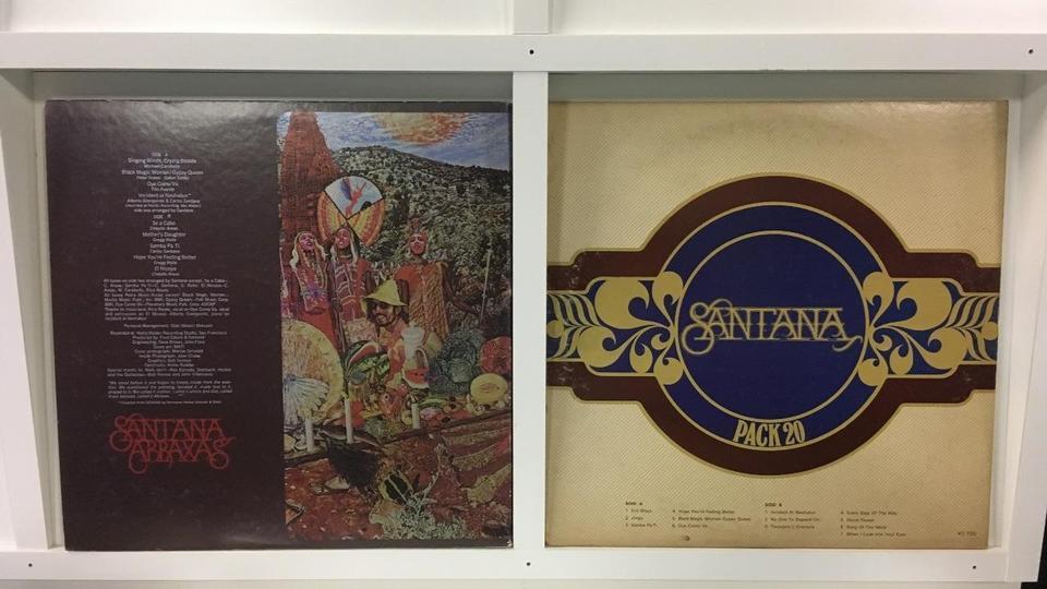 サンタナ 4枚セット  画像