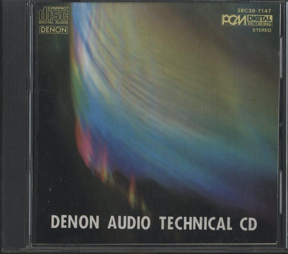 DENON AUDIO TECHNICAL CD  画像