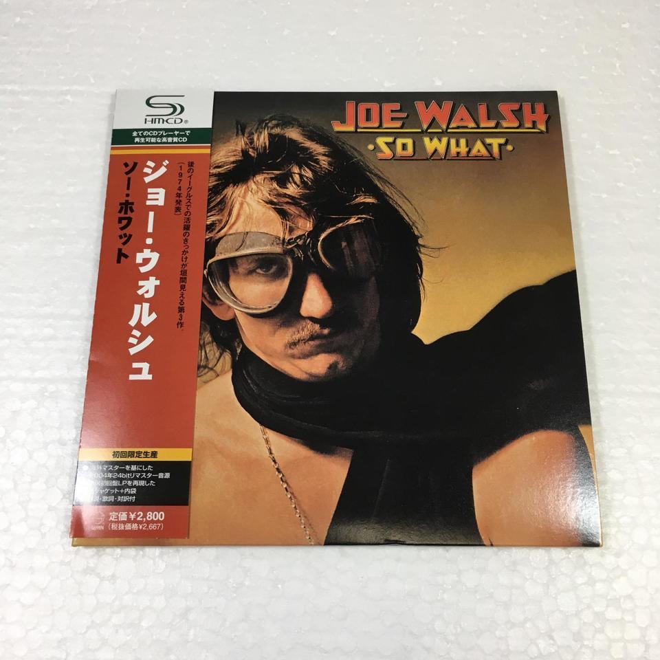 SO WHAT/JOE WALSH - HiFi-Do McIntosh/JBL/audio-technica/Jeff Rowland