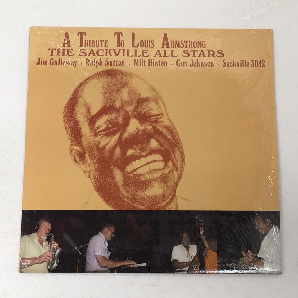 A TRIBUTE LOUIS ARMSTRONG/THE SACKVILLE ALL STARS JIM GALLOWAY 画像