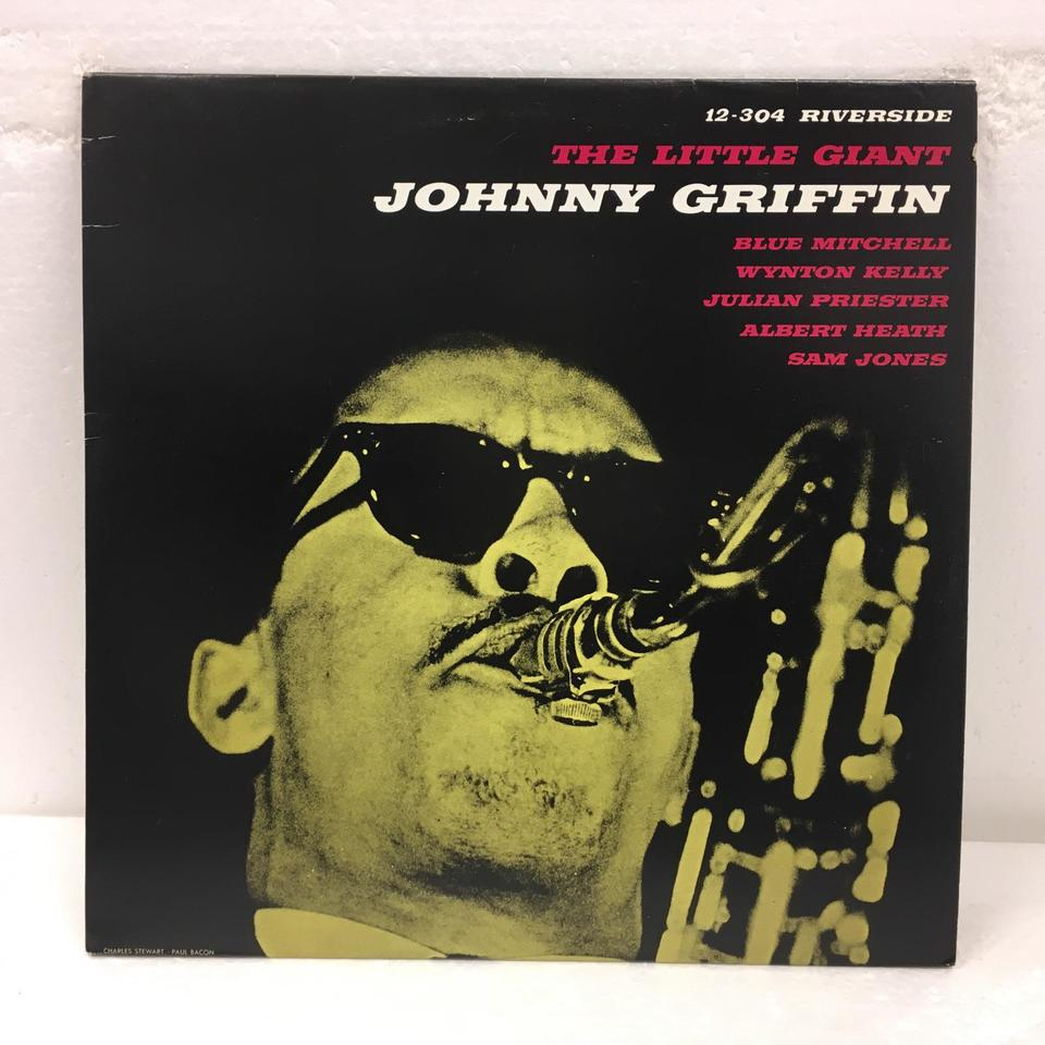 THE LITTLE GIANT/JOHNNY GRIFFIN JOHNNY GRIFFIN 画像