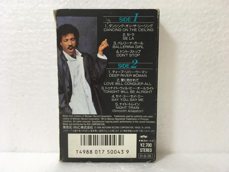 DANCING ON THE CEILING/LIONEL RICHIE LIONEL RICHIE 画像