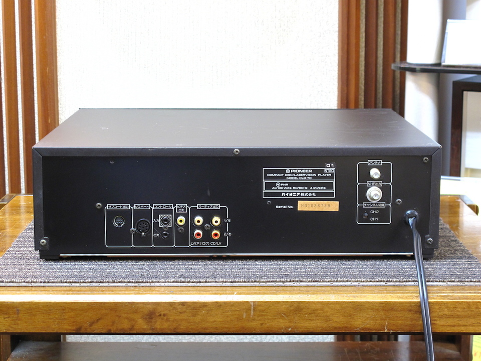 CLD-70 PIONEER 画像