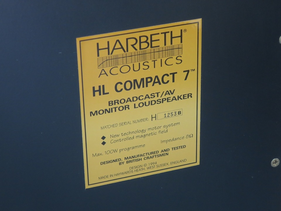 HL COMPACT 7 HARBETH 画像