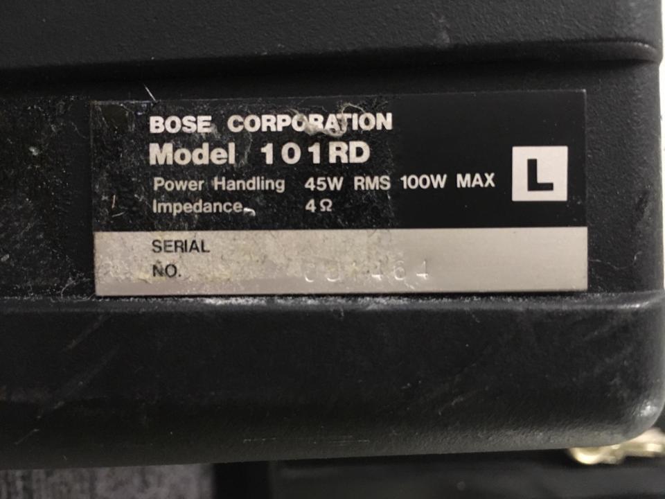 101RD BOSE 画像