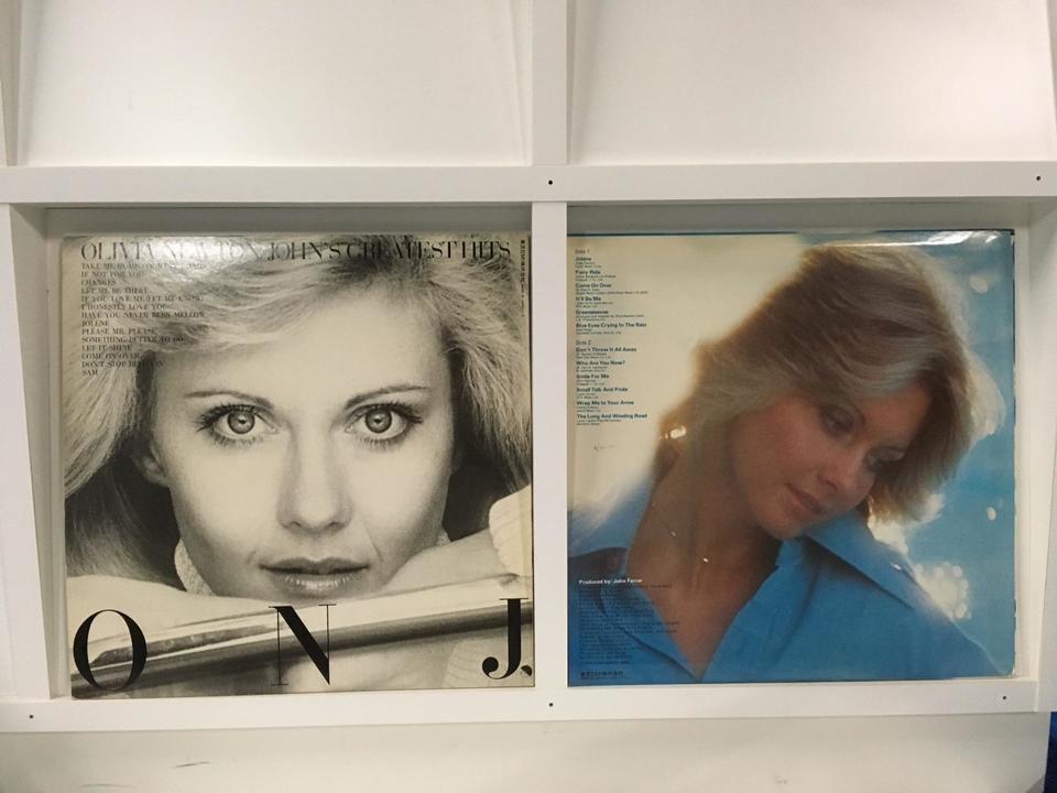 オリビア・ニュートン=ジョン 4枚セット  画像