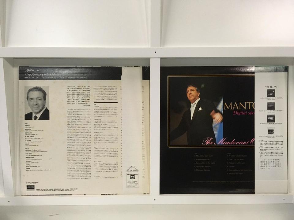 マントヴァーニ 4枚セット  画像