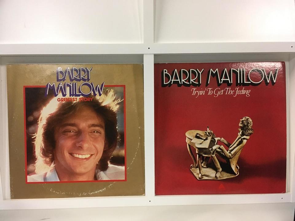 バリー・マニロウ 4枚セット  画像