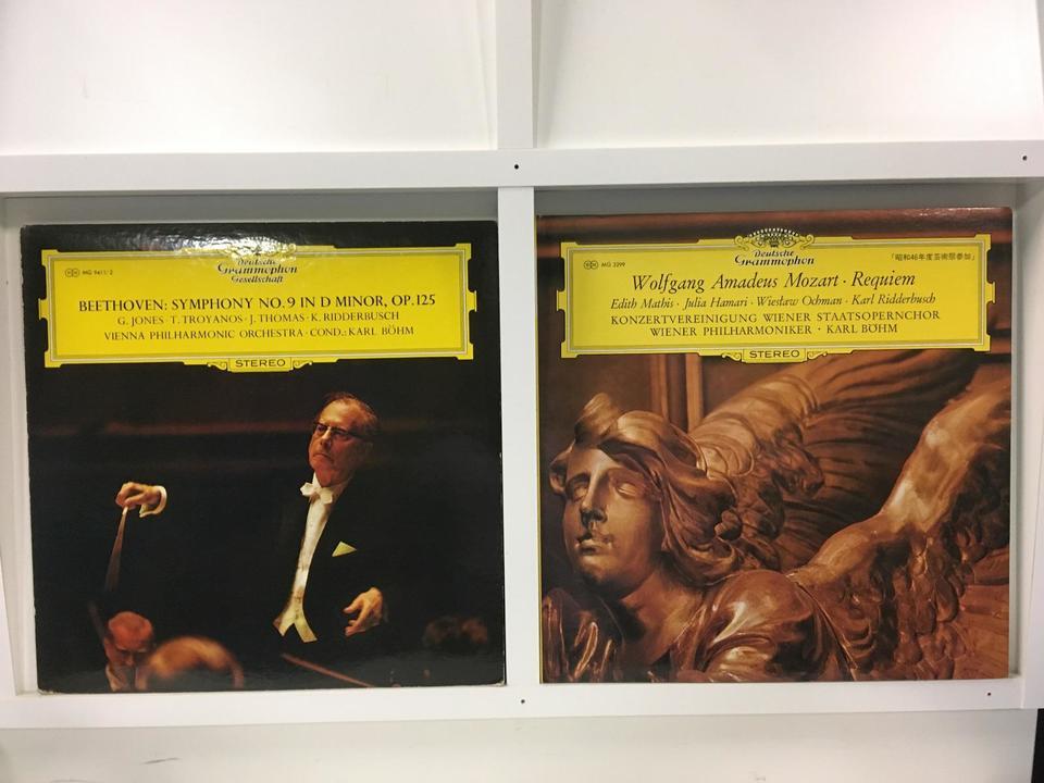 カール・ベーム指揮 ウィーン・フィルハーモニー管弦楽団 4枚セット  画像