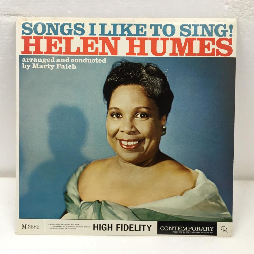 SONGS I LIKE TO SING/HELEN HUMES HELEN HUMES 画像