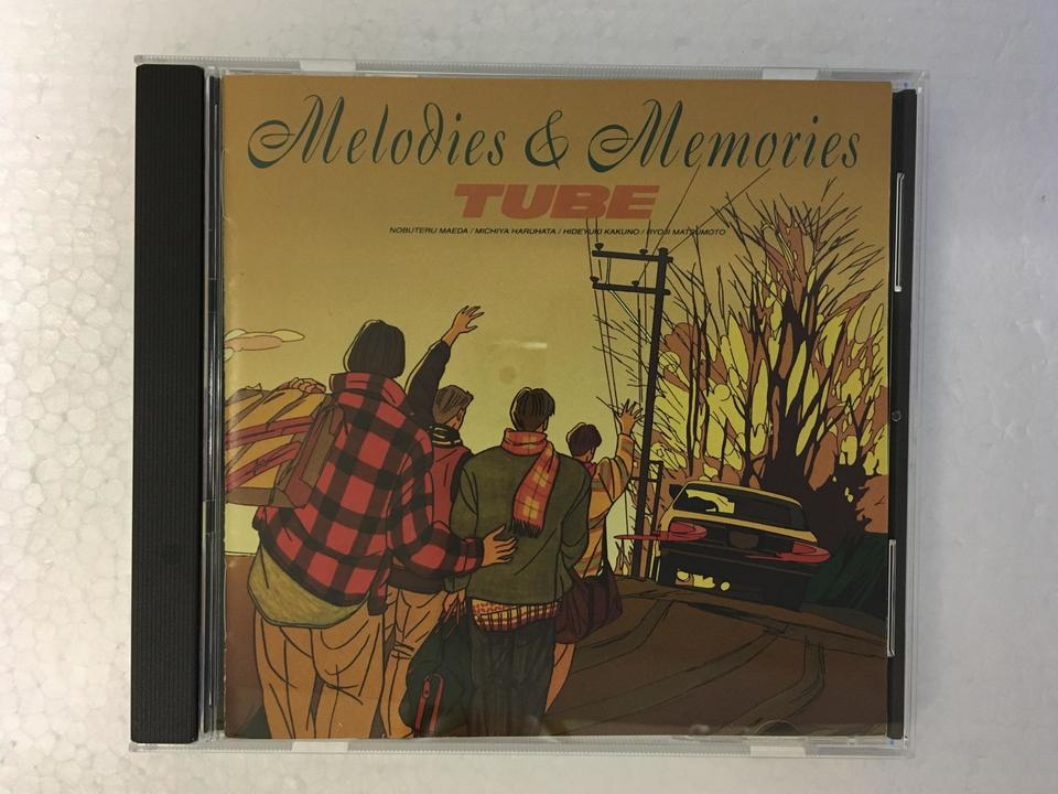MELODIES & MEMORIES/TUBE TUBE 画像