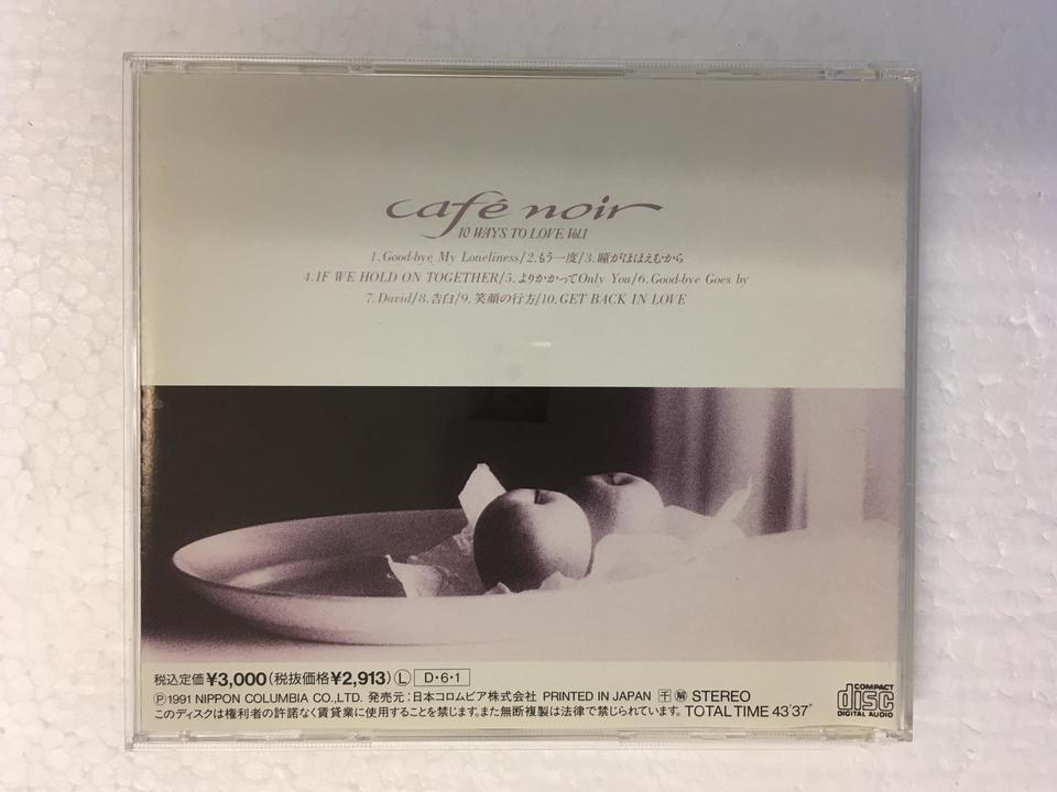 10 WAYS TO LOVE Vol.1/CAFE NOIR CAFE NOIR 画像