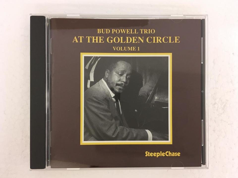 AT THE GOLDEN CIRCLE VOL.1/BUD POWELL BUD POWELL 画像