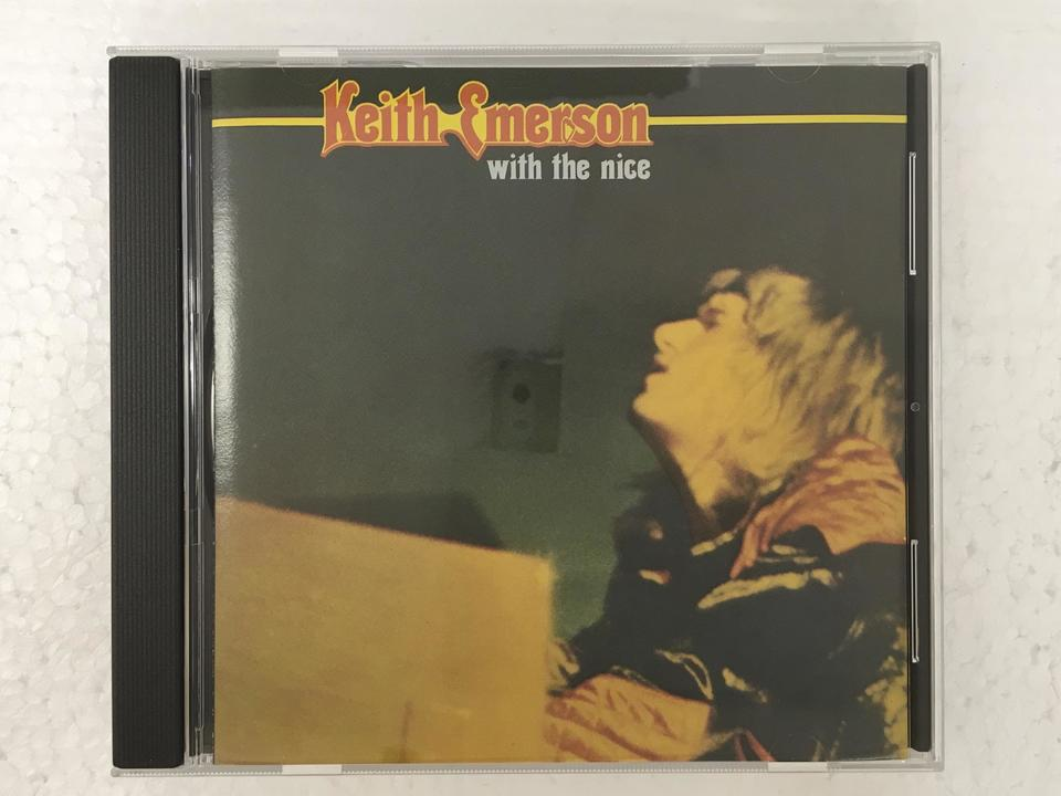 WITH THE NICE/KEITH EMERSON KEITH EMERSON 画像