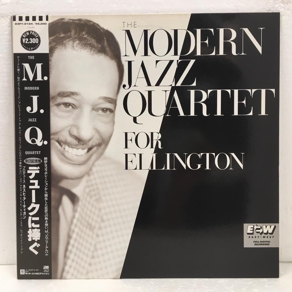 THE MODERN JAZZ QUARTET FOR ELLINGTON MJQ 画像