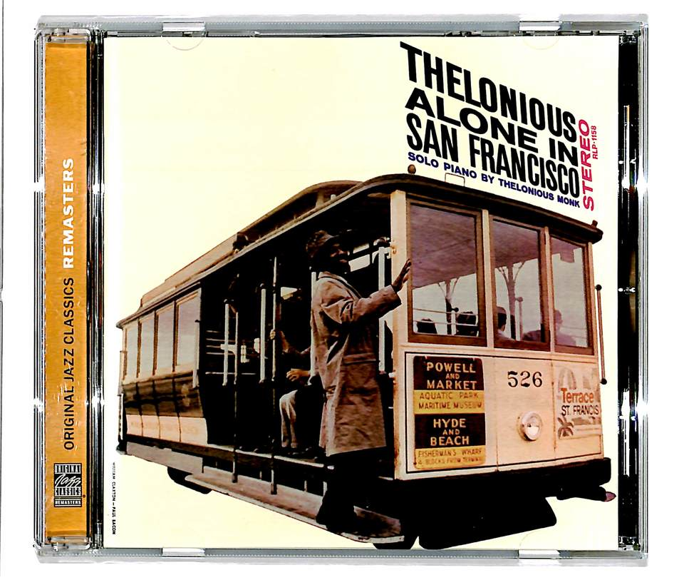THELONIOUS ALONE IN SAN FRANCISCO/THELONIOUS MONK THELONIOUS MONK 画像