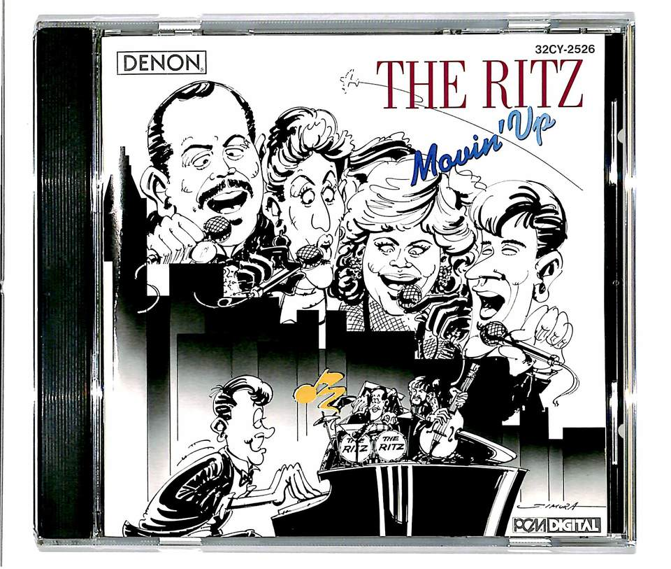 MOVIN' UP/THE RITZ THE RITZ 画像
