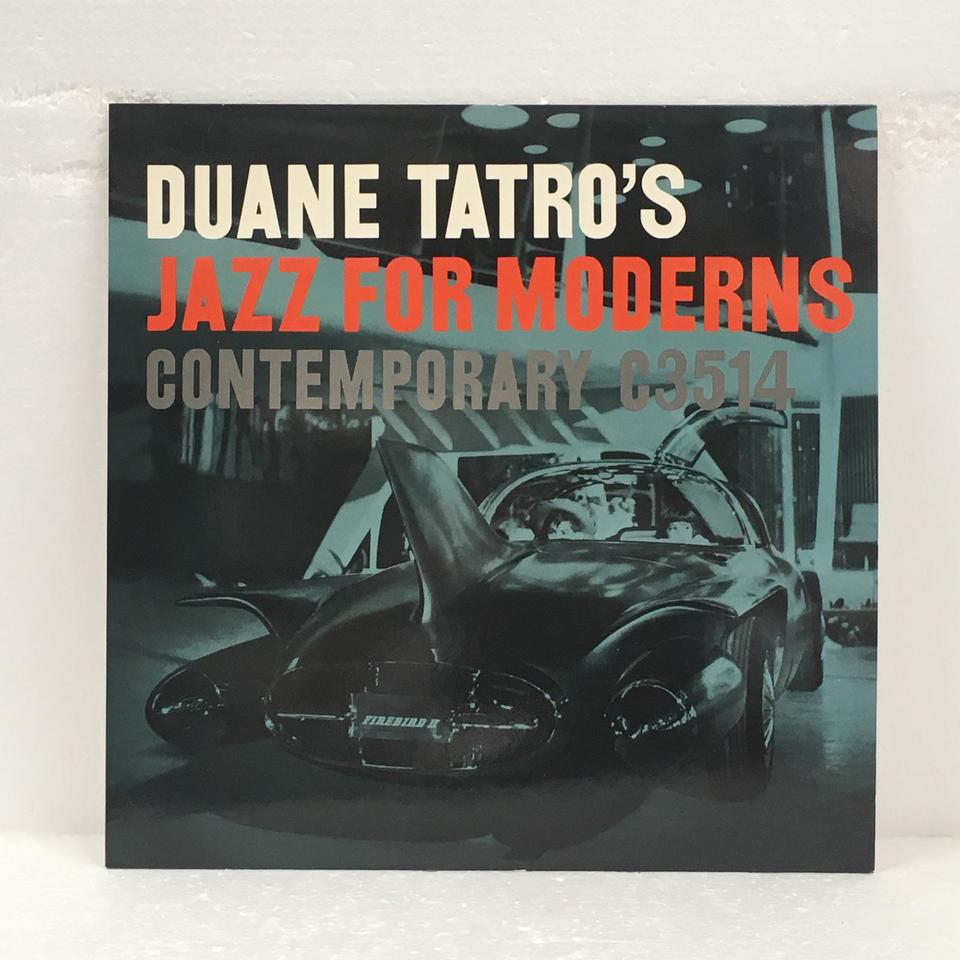 DUANE TATRO'S JAZZ FOR MODERNS DUANE TATRO 画像