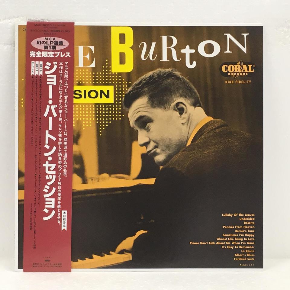 JOE BURTON SESSION JOE BURTON 画像