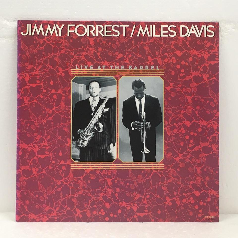 LIVE AT THE BARREL/MILES DAVIS MILES DAVIS 画像