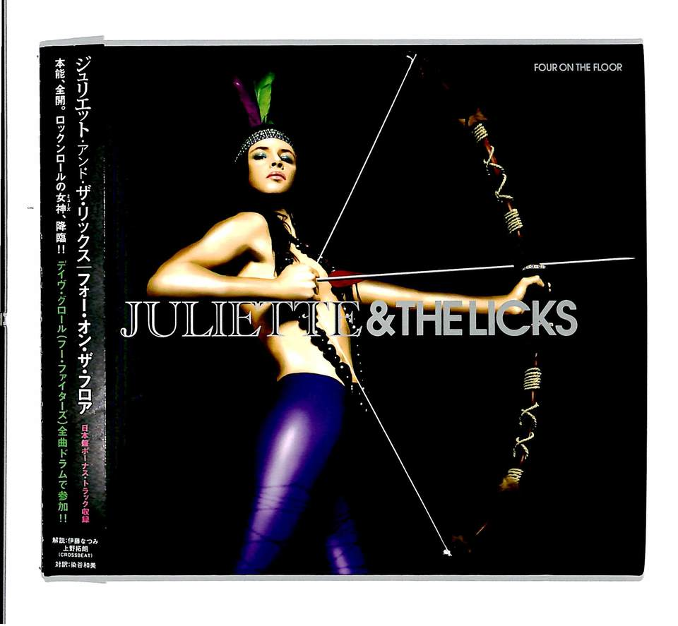 FOUR ON THE FLOOR/JULIETTE & THELICKS JULIETTE & THELICKS 画像