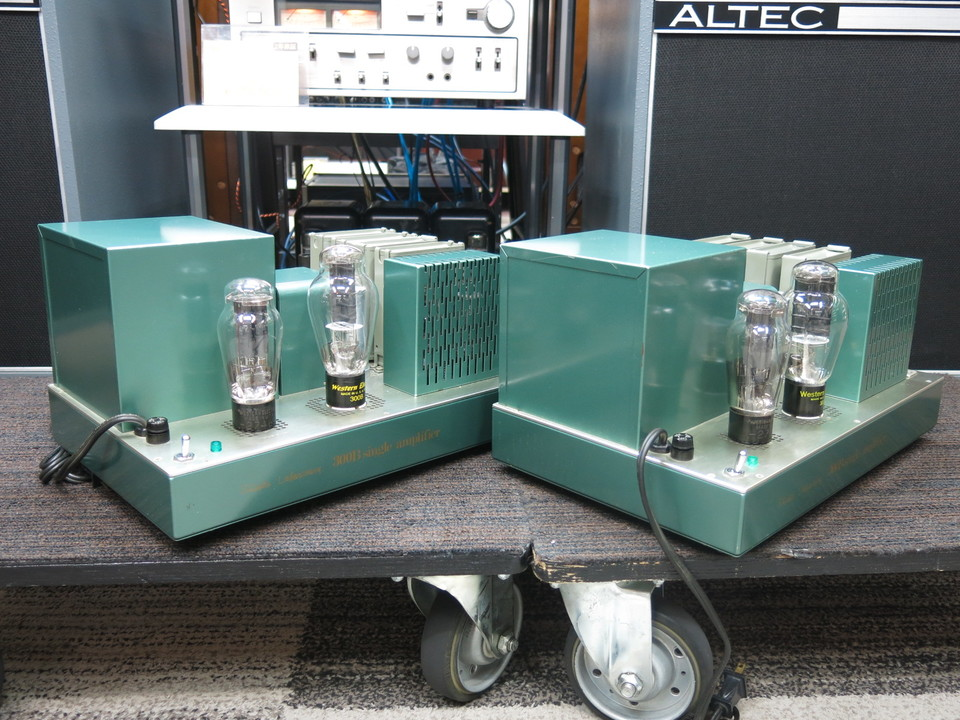 300B Single amplifier Shindo Laboratory 画像