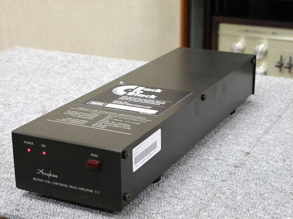 C-7 Accuphase 画像
