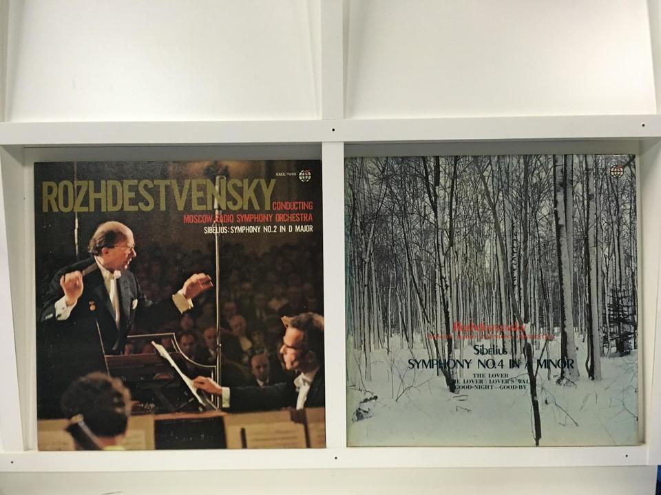 ゲンナジー・ロジェストヴェンスキー 4枚セット  画像