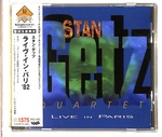 LIVE IN PARIS/STAN GETZ QUARTET