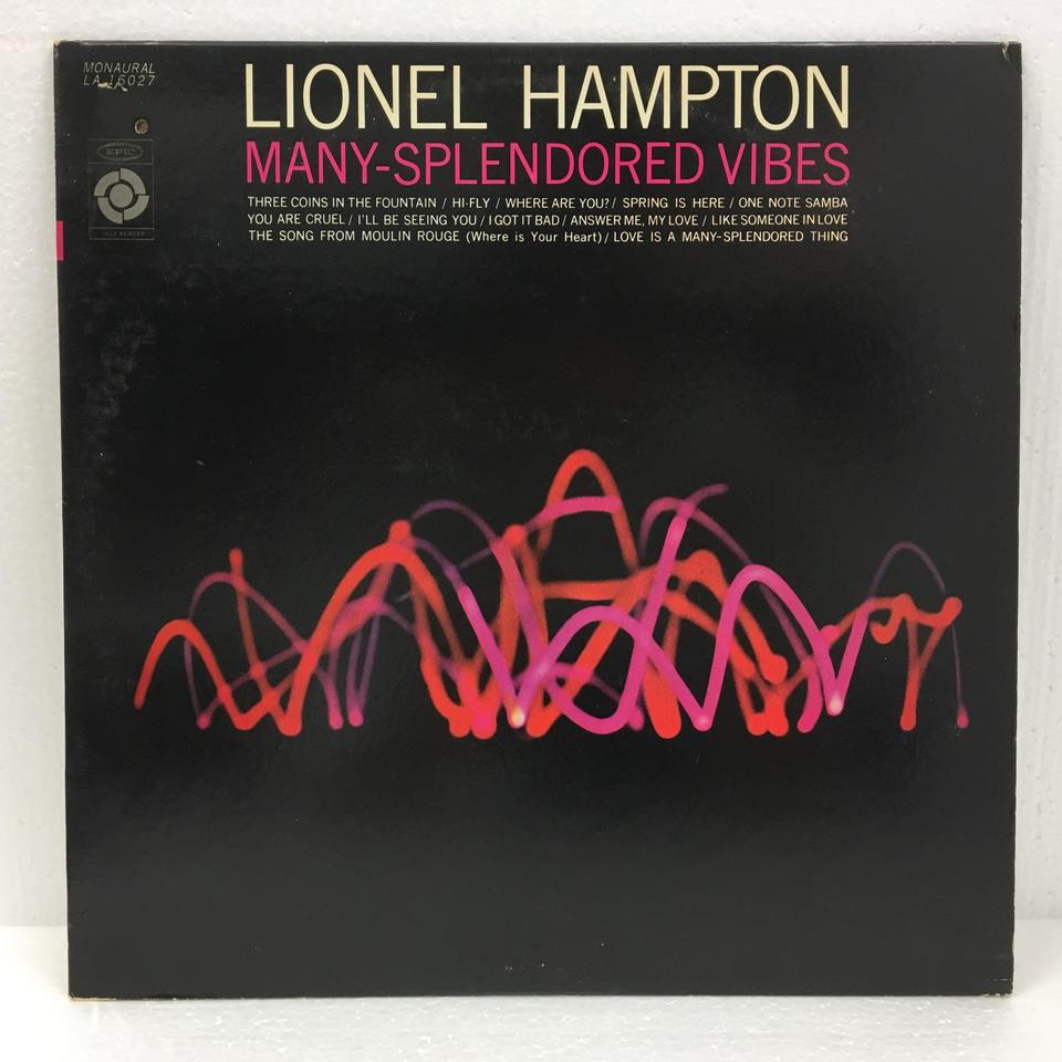 MANY-SPLENDORED VIBES/LIONEL HAMPTON LIONEL HAMPTON 画像