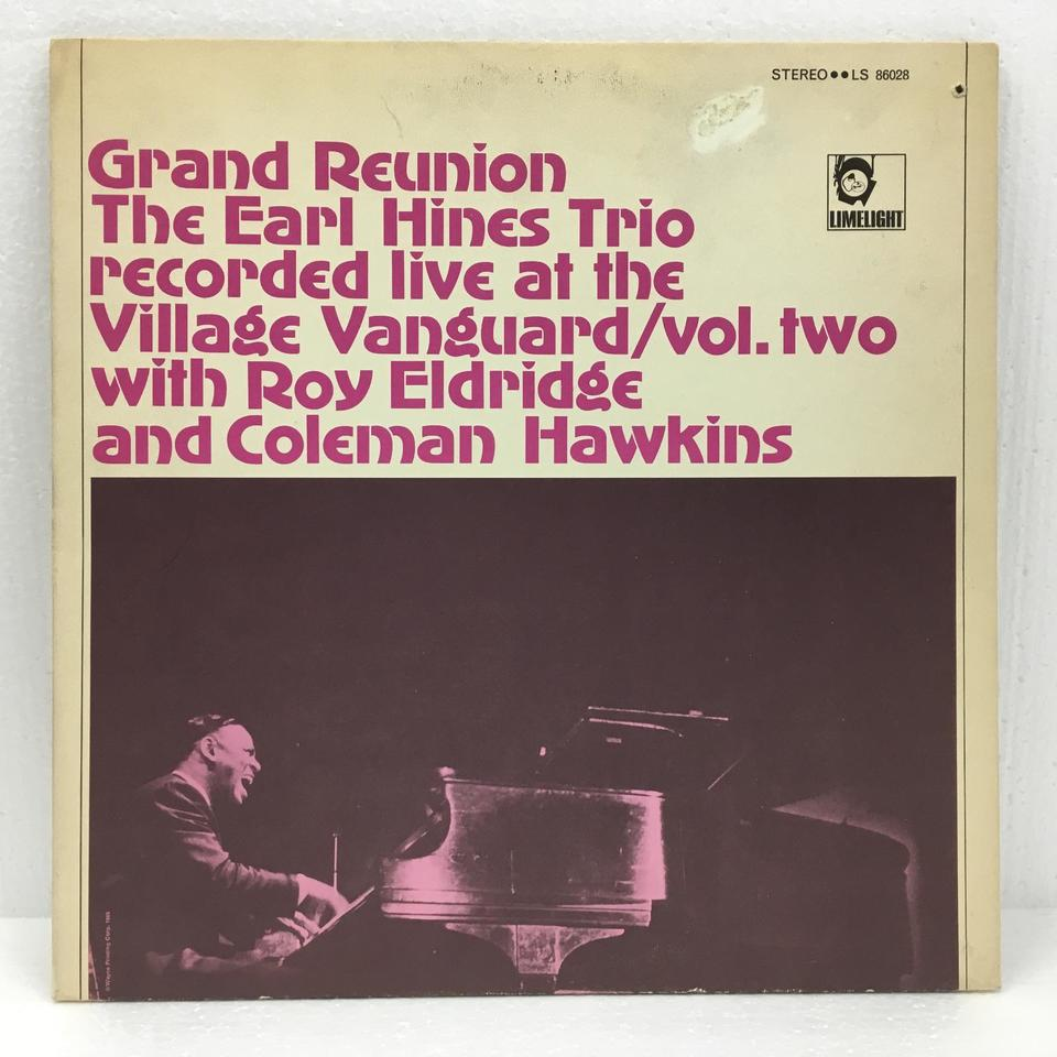 GRAND REUNION THE EARL HINES TRIO LIVE AT THE VILLAGE VANGUARD/VOL.2 EARL HINES 画像