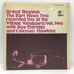 GRAND REUNION THE EARL HINES TRIO LIVE AT THE VILLAGE VANGUARD/VOL.2