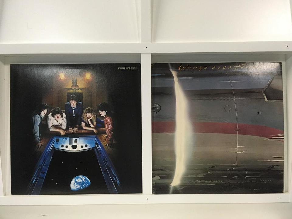 ウイングス (ポール・マッカートニー) 4枚セット  画像
