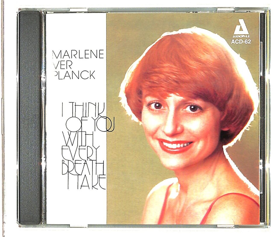 I THINK OF YOU WITH EVERY BREATH I TAKE/MARLENE VER PLANCK MARLENE VER PLANCK 画像
