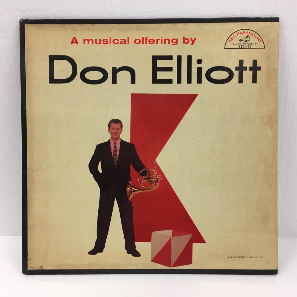 A MUSICAL OFFERING BY DON ELLIOTT DON ELLIOTT 画像