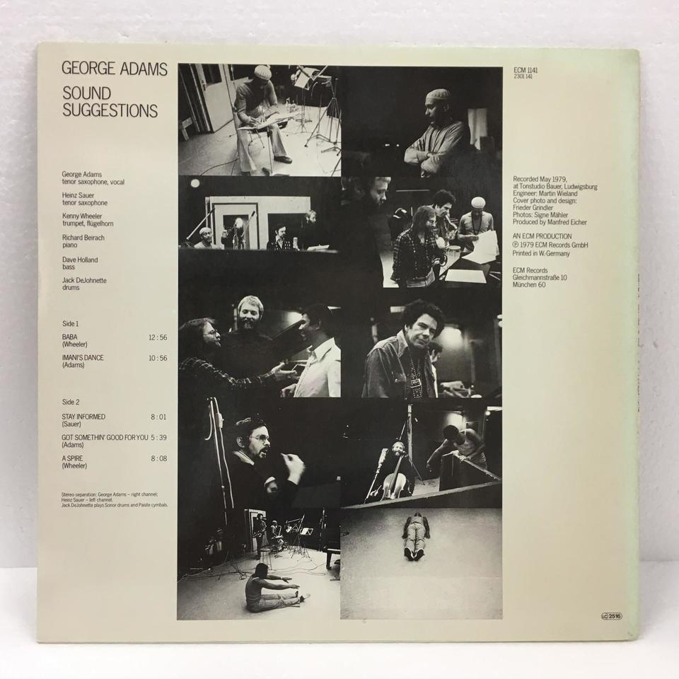 SOUND SUGGESTIONS/GEORGE ADAMS GEORGE ADAMS 画像