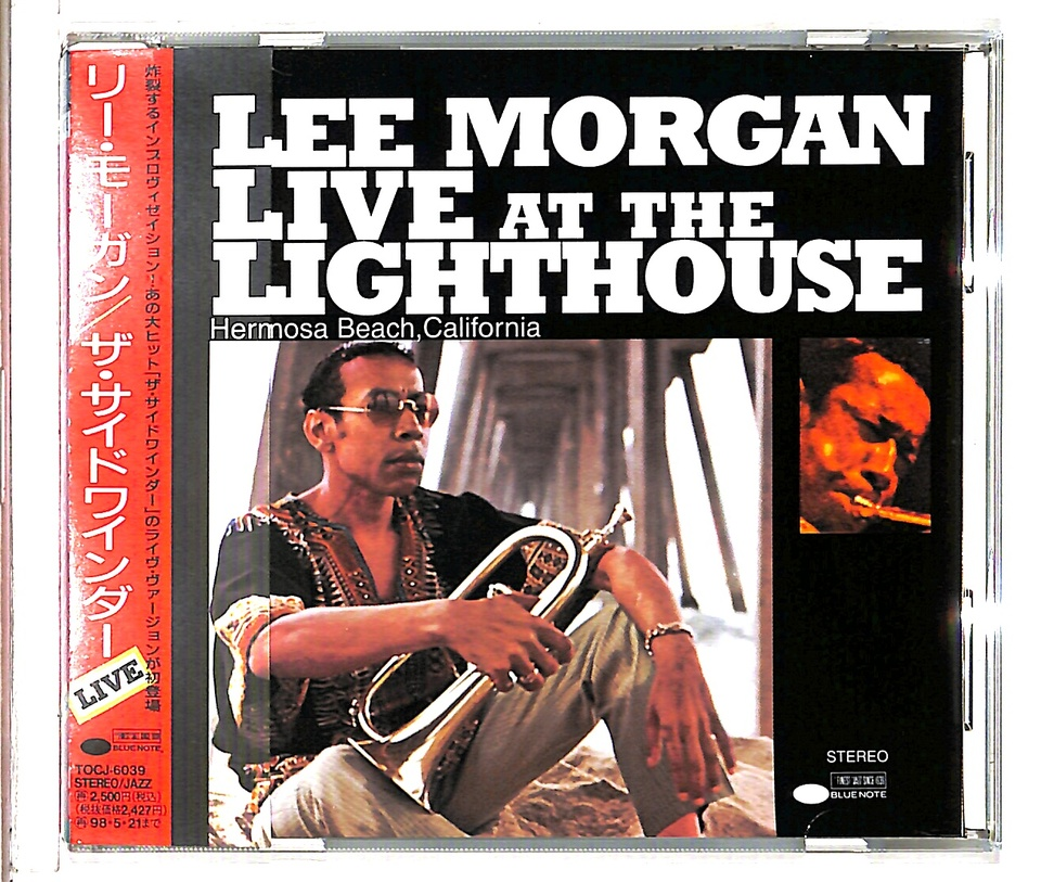 LIVE AT THE LIGHTHOUSE/LEE MORGAN LEE MORGAN 画像